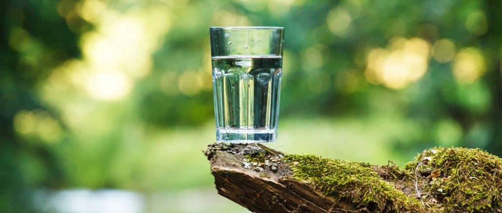 Gesundes Wasser